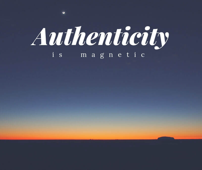 Authenticity to inspire